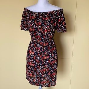 Forever 21 Contemporary floral mini dress size S